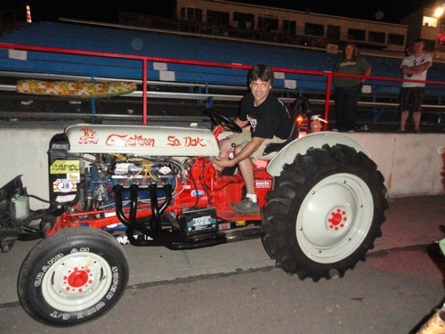 Art's Wicked 1951 Ford Race Tractor