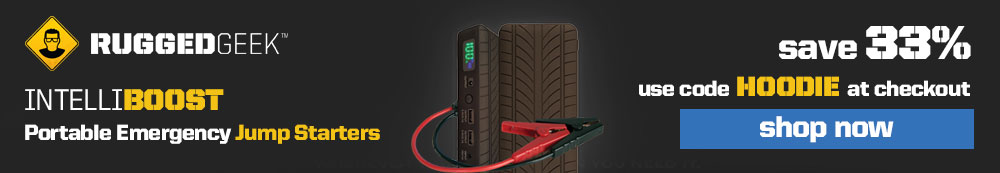 Rugged Geek Battery Jump Starter