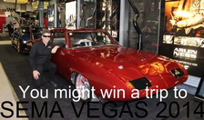 Win  A Free Trip To Vegas and SEMA On Us