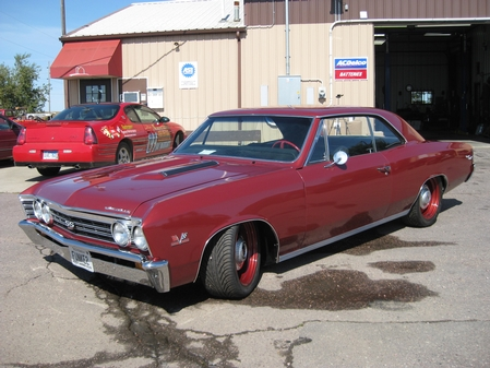 1967 Supercharged Chevelle SS