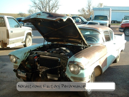 LS 1957 Caddy Coupe de Ville Rat Rod Turned Show Queen