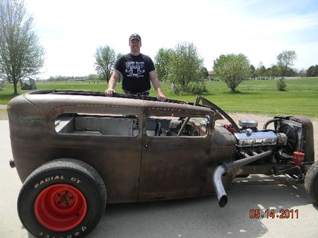 Our Employee Scot Pieper's Model A