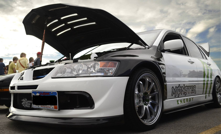 Our South Dakota Hoodie Ryan's 04 Lancer Evolution VIII
