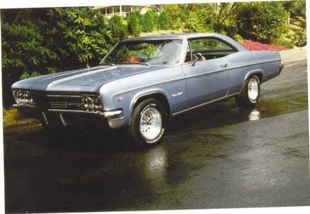 Our Hoodie Wayne's 66 Impala SS