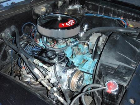 Larry's 71 Pontiac GTO Engine Picture