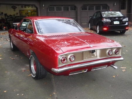 Larry's 65 Corvair Turbo Pictures