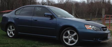Our Hoodie Ryan Boucher's 2005 Subaru Legacy GT