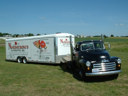 1949 GMC Hauler with LS Engine