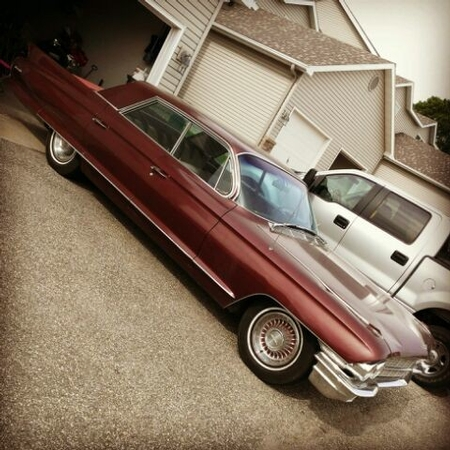 Our Minnesota Hoodie Brandyn's 62 Caddy