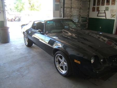 Our Hoodie William's 1979 Camaro