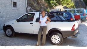 Our Italian Hoodie Annamaria's Fiat P/U